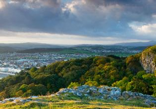 Overlooking Llandudno | A superb view of town, taken from the Great Orme