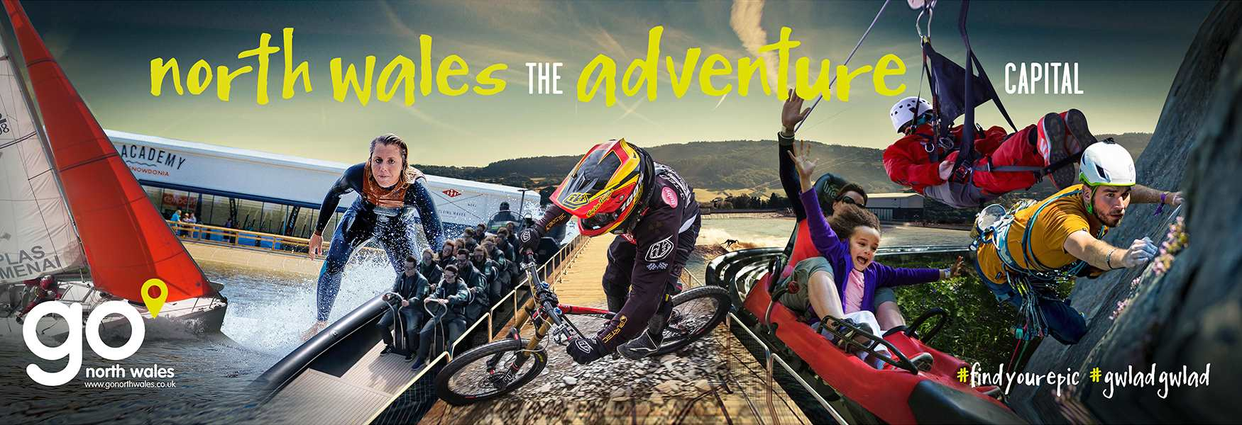 North wales the adventure capital of Europe