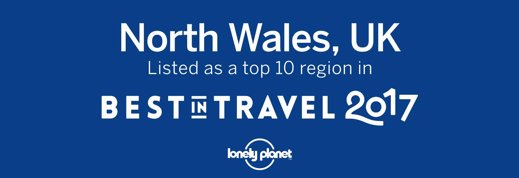 North Wales a Lonely planet top 10 destination