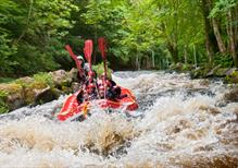 Face the Rapids | Our white water is quick, unpredictable and extremely fun.