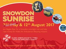 Snowdon Sunrise - Wales Air Ambulance