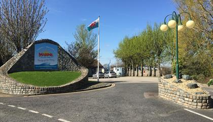 Marine Holiday Park Entrance