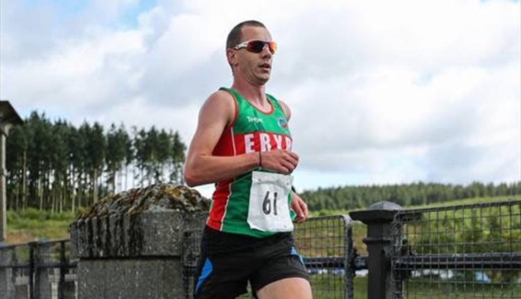 Llyn Allwen 11.5 Trial Run & Canicross