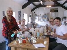 Candle Making on Anglesey