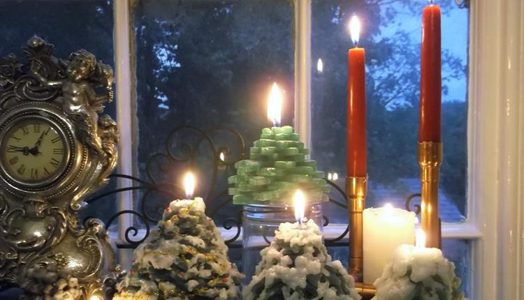Christmas Candle Workshop, Anglesey