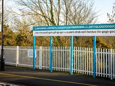 Llanfairpwll Train Station
