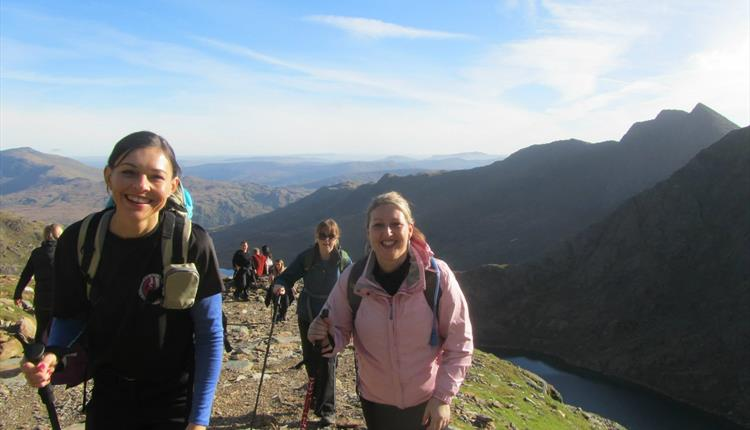 Open Climb Snowdon - Mon 22 April 2019