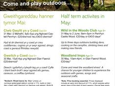Woodland Imps activity day
