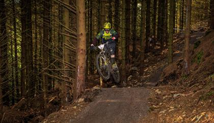 Penmachno mountain bike trail