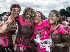 Chirk Race For Life Pretty Muddy Event