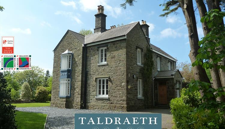 Taldraeth -  The Old Vicarage 5* Guest House in the Centre of Snowdonia.