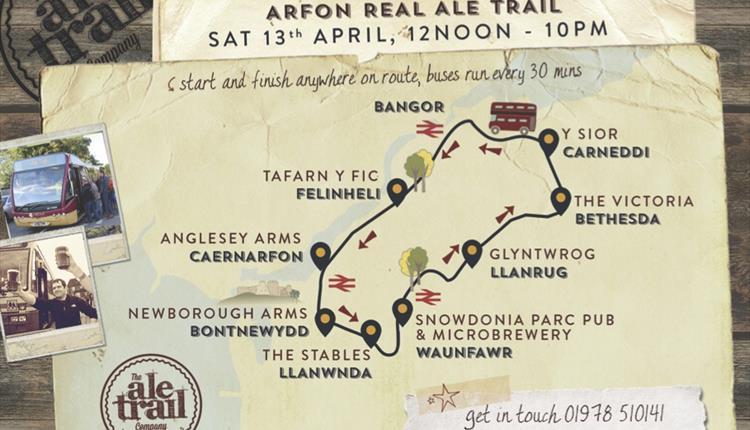 Caernarfon Real Ale Trail