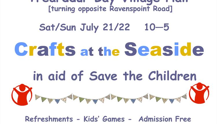 Crafts at the Seaside - Save the Children Craft Fair