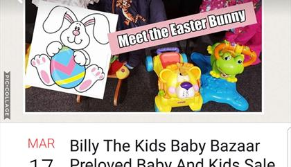 Billy The Kids Baby Bazaar Preloved baby and childrens Sale