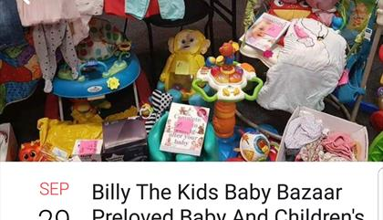 Billy The Kids Baby Bazaar Preloved Baby Sale