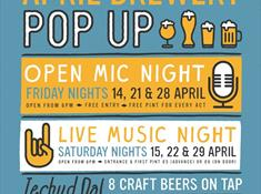 Brewery Pop Up Live Music Night
