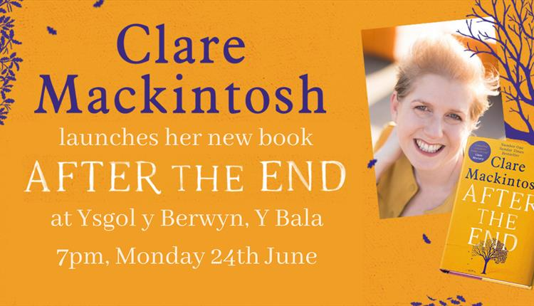 Book launch: Sunday Times bestseller Clare Mackintosh