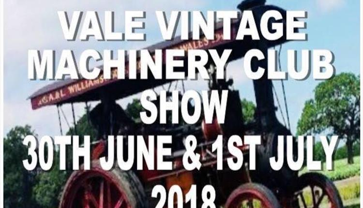 Vale Vintage Machinery Club Show